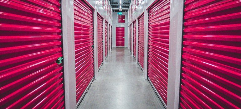 Inside of storage fascilities