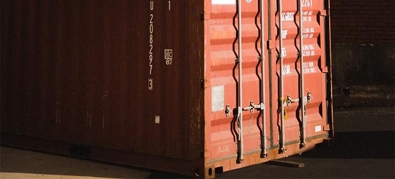 A unit of portable storage in Philadelphia