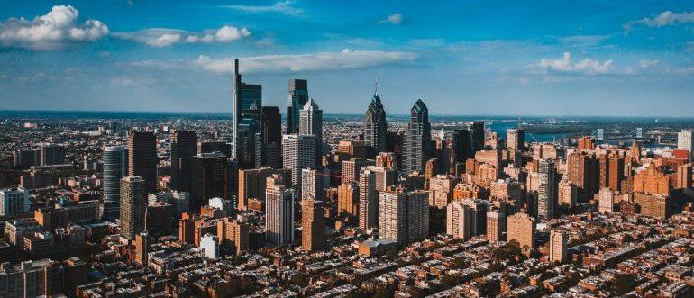 A cityscape of Philadelphia