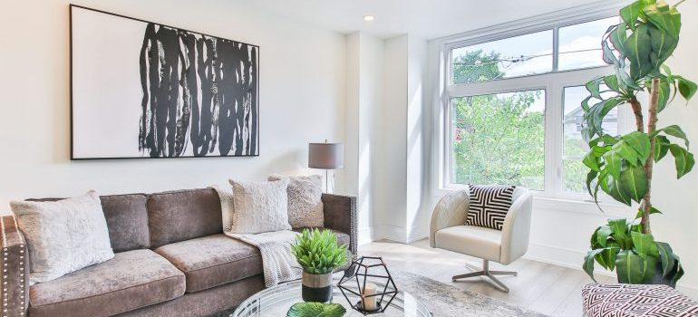 Philadelphia home living room after remodeling