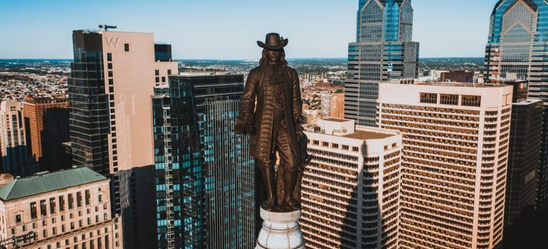 Philadelphia statue